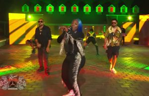 Watch Spice, Sean Paul and Shaggy peform 'Go Down Deh' on Jimmy Kimmel Live