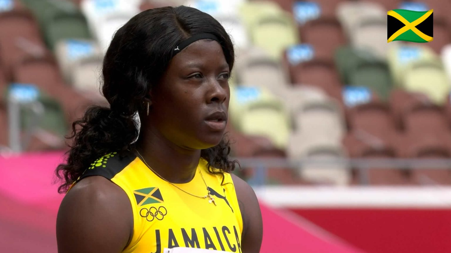Shericka Jackson qualifies for Women's 100m semi-final at ...