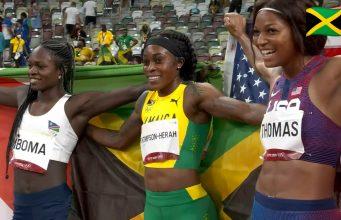 Elaine Thompson-Herah wins 200m Olympic Gold at Tokyo 2020